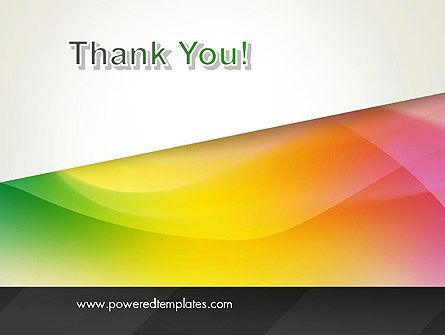 Orange Green Gradient PowerPoint Template Slide 20
