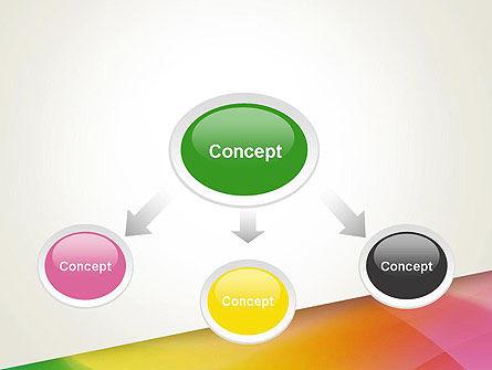 Orange Green Gradient PowerPoint Template Slide 4