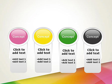 Orange Green Gradient PowerPoint Template Slide 5