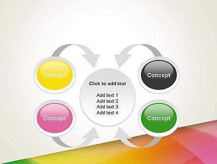 Orange Green Gradient PowerPoint Template Slide 6