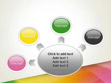 Orange Green Gradient PowerPoint Template Slide 7