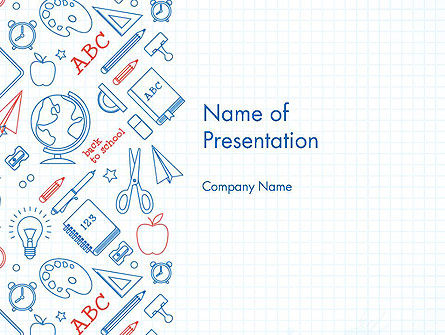School Background PowerPoint Template