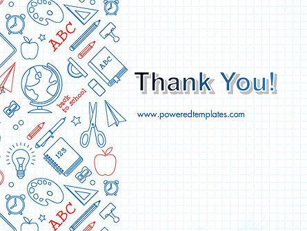 School Background PowerPoint Template Slide 20