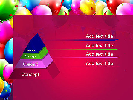 Colorful Birthday PowerPoint Template Slide 12