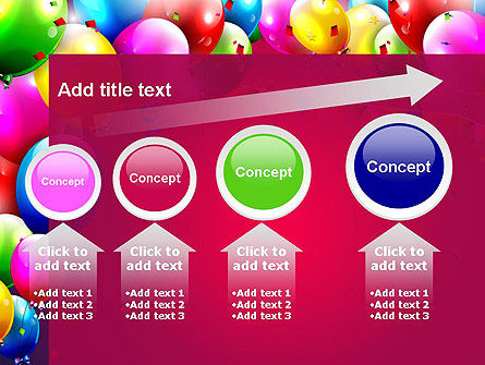 Colorful Birthday PowerPoint Template Slide 13