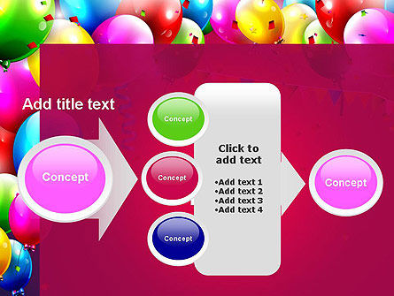 Colorful Birthday PowerPoint Template Slide 17
