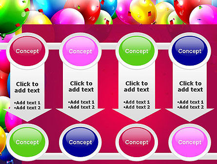 Colorful Birthday PowerPoint Template Slide 18