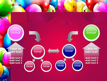 Colorful Birthday PowerPoint Template Slide 19
