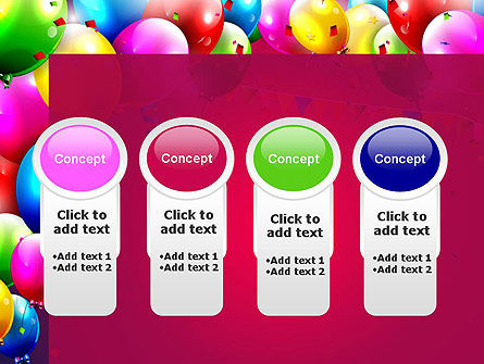 Colorful Birthday PowerPoint Template Slide 5