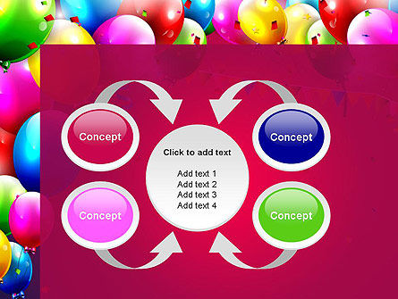 Colorful Birthday PowerPoint Template Slide 6