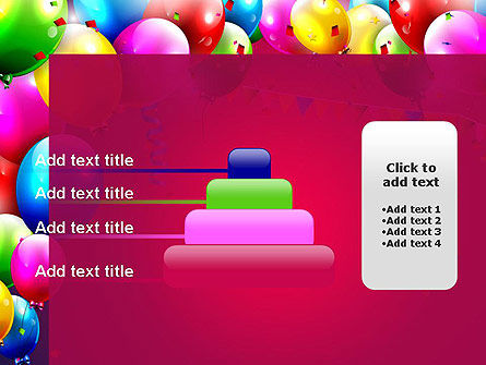 Colorful Birthday PowerPoint Template Slide 8