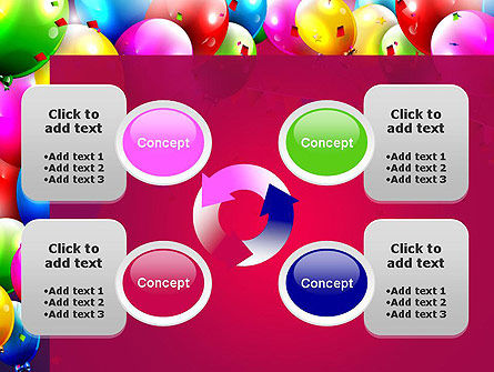 Colorful Birthday PowerPoint Template Slide 9