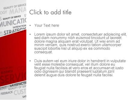 Management Word Cloud PowerPoint Template, Slide 3, 13455, Consulting — PoweredTemplate.com