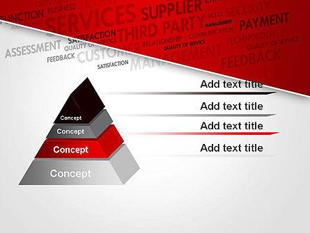 Management Word Cloud PowerPoint Template Slide 12