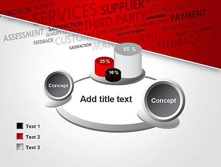 Management Word Cloud PowerPoint Template Slide 16