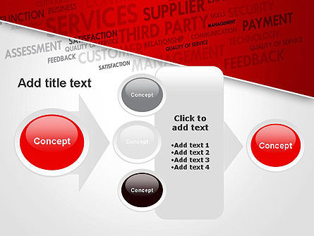 Management Word Cloud PowerPoint Template Slide 17