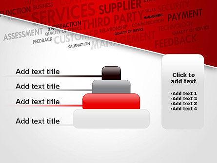 Management Word Cloud PowerPoint Template Slide 8