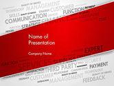 Consulting: Beheer Word Cloud PowerPoint Template #13455