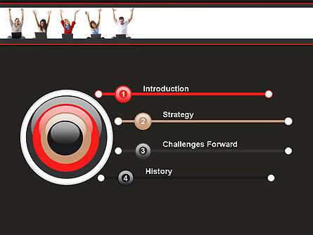 Social Bookmarking PowerPoint Template, Slide 3, 13456, Careers/Industry — PoweredTemplate.com