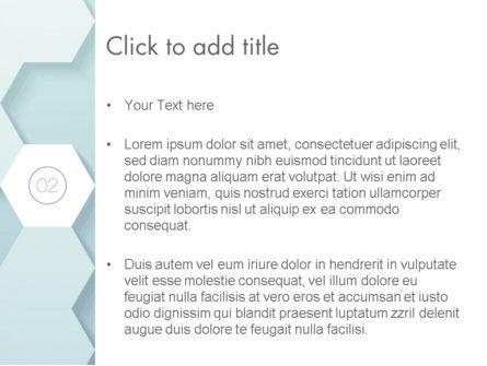 Hexagon Background PowerPoint Template, Slide 3, 13457, Abstract/Textures — PoweredTemplate.com