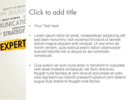 Business Expert PowerPoint Template, Slide 3, 13458, Consulting — PoweredTemplate.com