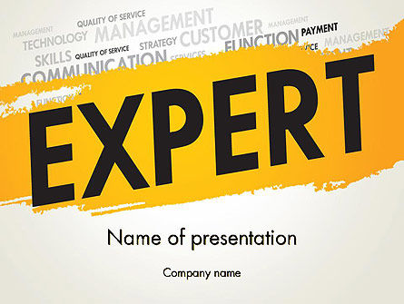 Business Expert PowerPoint Template