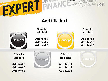 Business Expert PowerPoint Template Slide 18