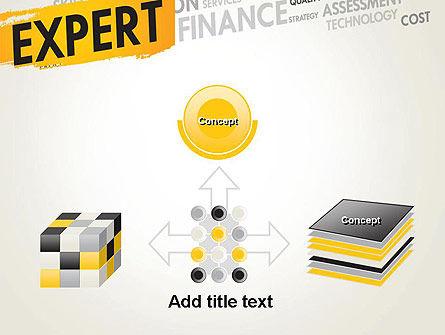 Business Expert PowerPoint Template Slide 19