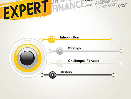 Business Expert PowerPoint Template Slide 3