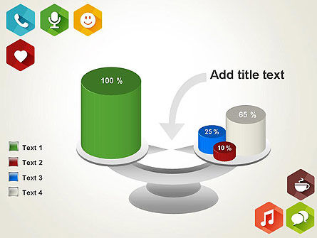 Flat Social Media Icons PowerPoint Template Slide 10