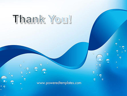 Abstract Sparkling Water PowerPoint Template Slide 20