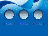 Abstract Sparkling Water PowerPoint Template#5