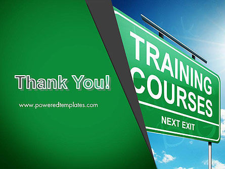 Training Courses PowerPoint Template Slide 20