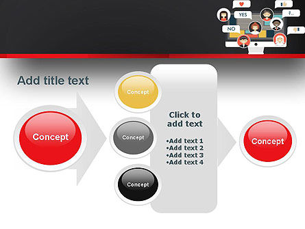 Social Marketing PowerPoint Template Slide 17