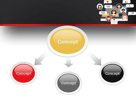 Social Marketing PowerPoint Template, Slide 4, 13463, Careers/Industry — PoweredTemplate.com