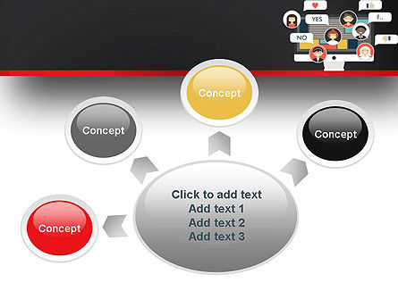 Social Marketing PowerPoint Template Slide 7