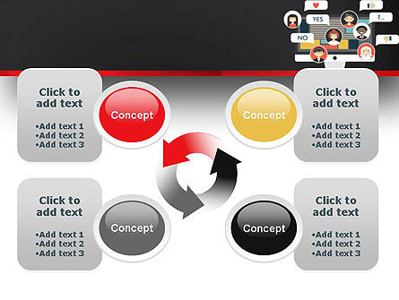 Social Marketing PowerPoint Template Slide 9