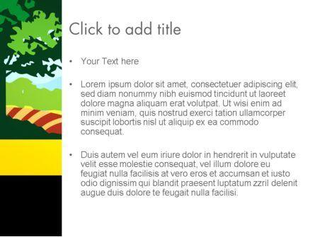 Cutout Scenery PowerPoint Template, Slide 3, 13464, Art & Entertainment — PoweredTemplate.com