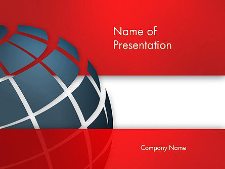 Business Global PowerPoint Template, 13465, Business — PoweredTemplate.com