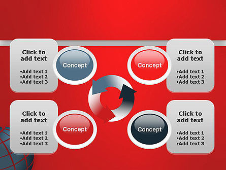 Business Global PowerPoint Template Slide 9