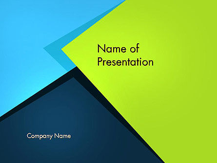 Sheets Of Colored Sticker Paper Abstract Powerpoint Template