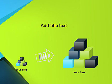 Sheets of Colored Sticker Paper Abstract PowerPoint Template Slide 13