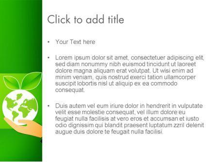 Green Technologies PowerPoint Template, Slide 3, 13469, Nature & Environment — PoweredTemplate.com