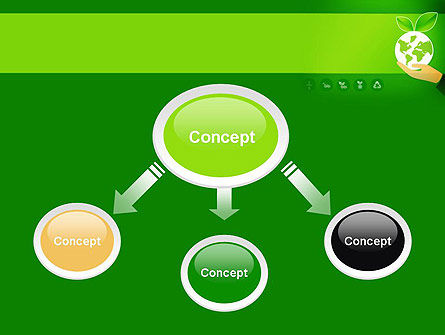 Green Technologies PowerPoint Template, Slide 4, 13469, Nature & Environment — PoweredTemplate.com