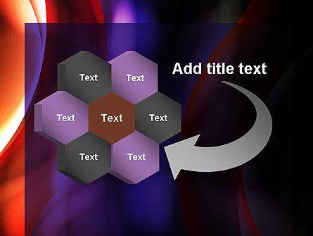 Wavy Smoky Streaks PowerPoint Template Slide 11