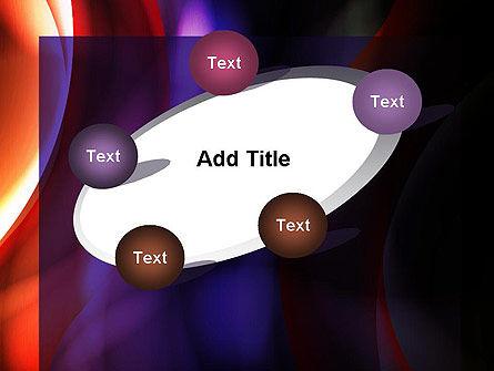 Wavy Smoky Streaks PowerPoint Template Slide 14