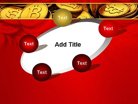 Scattered Bitcoins PowerPoint Template Slide 14