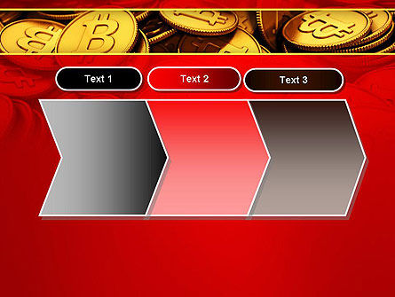 Scattered Bitcoins PowerPoint Template Slide 16