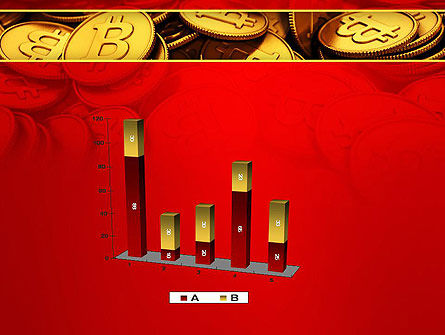 Scattered Bitcoins PowerPoint Template Slide 17