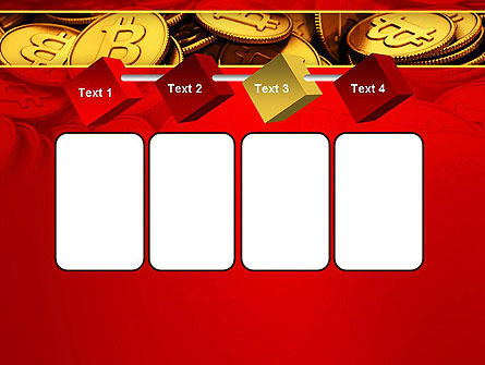 Scattered Bitcoins PowerPoint Template Slide 18